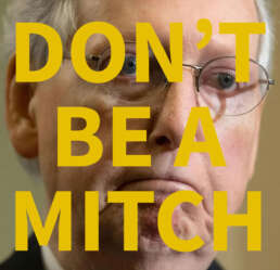 Dont-Be-A-Mitch-ActBlue-Donation-Brian-Tyler-Cohen