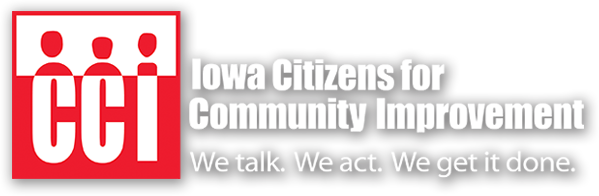 Iowa Citizens for Community Improvement (CCI) logo